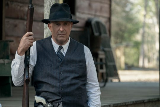 "Kevin Costner stars as Frank Hamer in ""The Highwaymen."""