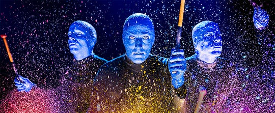 Blue Man Group will be back in Appleton for the 2019-20 Fox Cities PAC season.