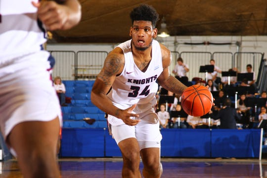 FDU forward Mike Holloway Jr.