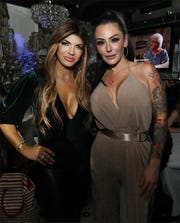 "Teresa Giudice and Jenni ""JWoww"" Farley at Harrah's Resort in Atlantic City on Saturday, March 9, 2019."