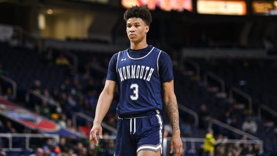 Monmouth's Deion Hammond and his teammates took on Canisius in Sunday night's MAAC Tournament semifinals in Albany, N.Y.