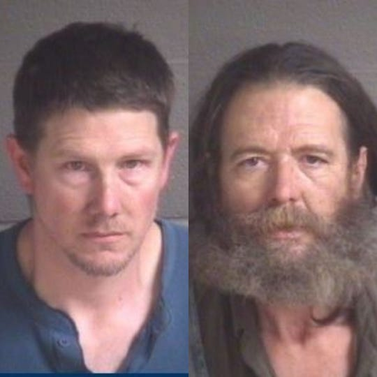 Stephen Michael Sowers II, left, and James Albert Austin