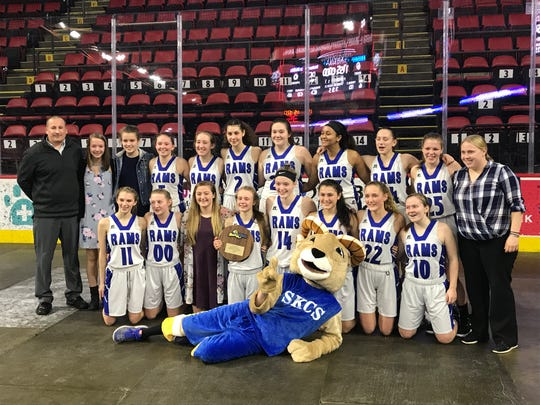 South Kortright's girls defeated Smithtown Christian, 65-35 Sunday at Floyd L. Maines Veterans Memorial Arena to advance to Class D state semifinals.