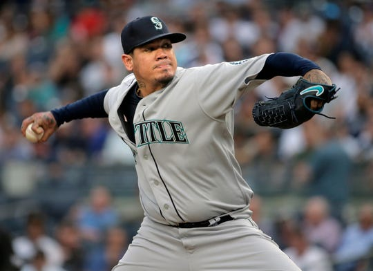 Felix Hernandez says he's upset to have been passed over for opening day, but the longtime Seattle Mariners ace isn't surprised. Hernandez spoke publicly Sunday, march 10, 2019 for the first time since manager Scott Servais announced a day earlier that Marco Gonzales would pitch Seattle's season opener against Oakland in Japan on March 20.