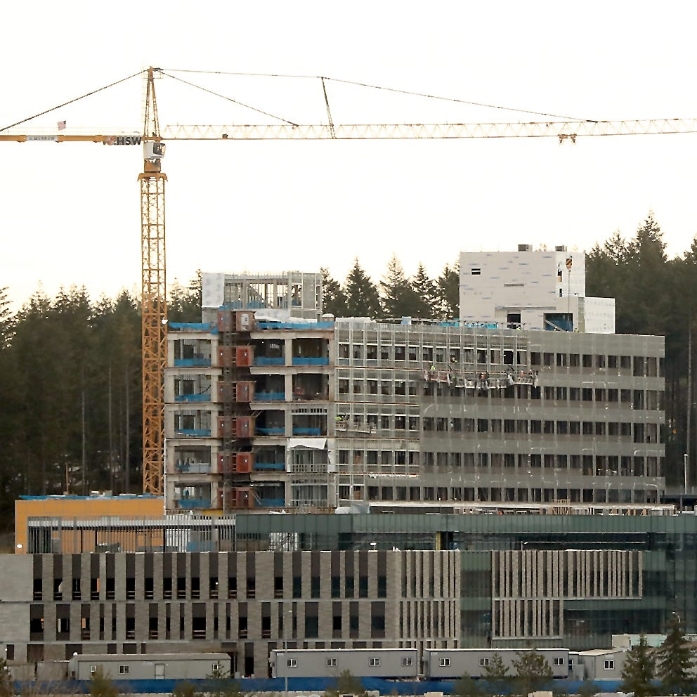 Harrison Medical Center still on track for 2020 opening in Silverdale