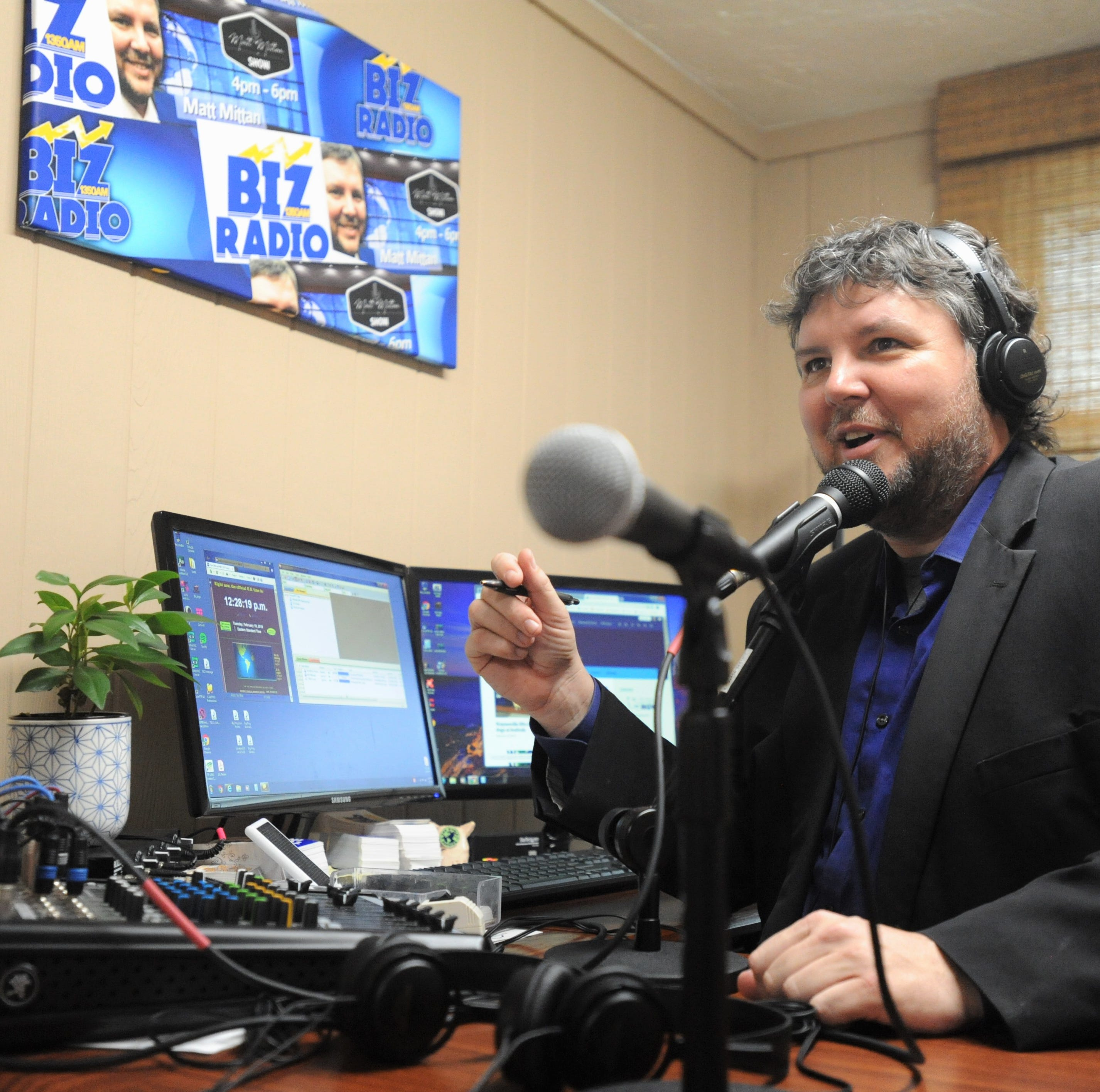 Broadcasting from Swannanoa, Matt Mittan is back at home on the airwaves