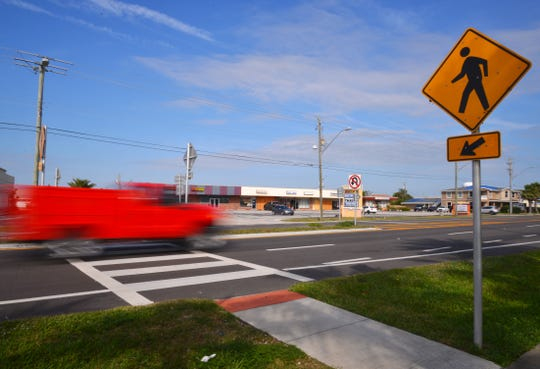 The State Road A1A crosswalk at Grant Avenue in Satellite Beach will receive a flashing beacon.