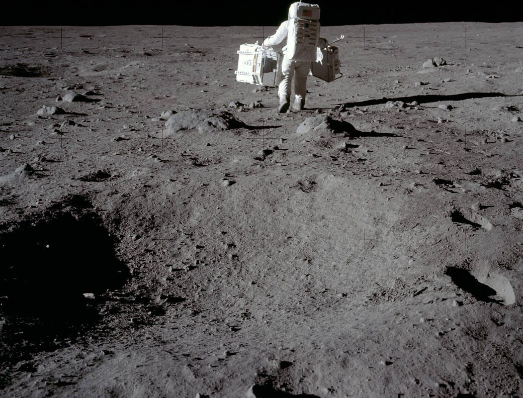 Fifty years ago on July 20, 1969, humanity stepped foot on another celestial body and into history.