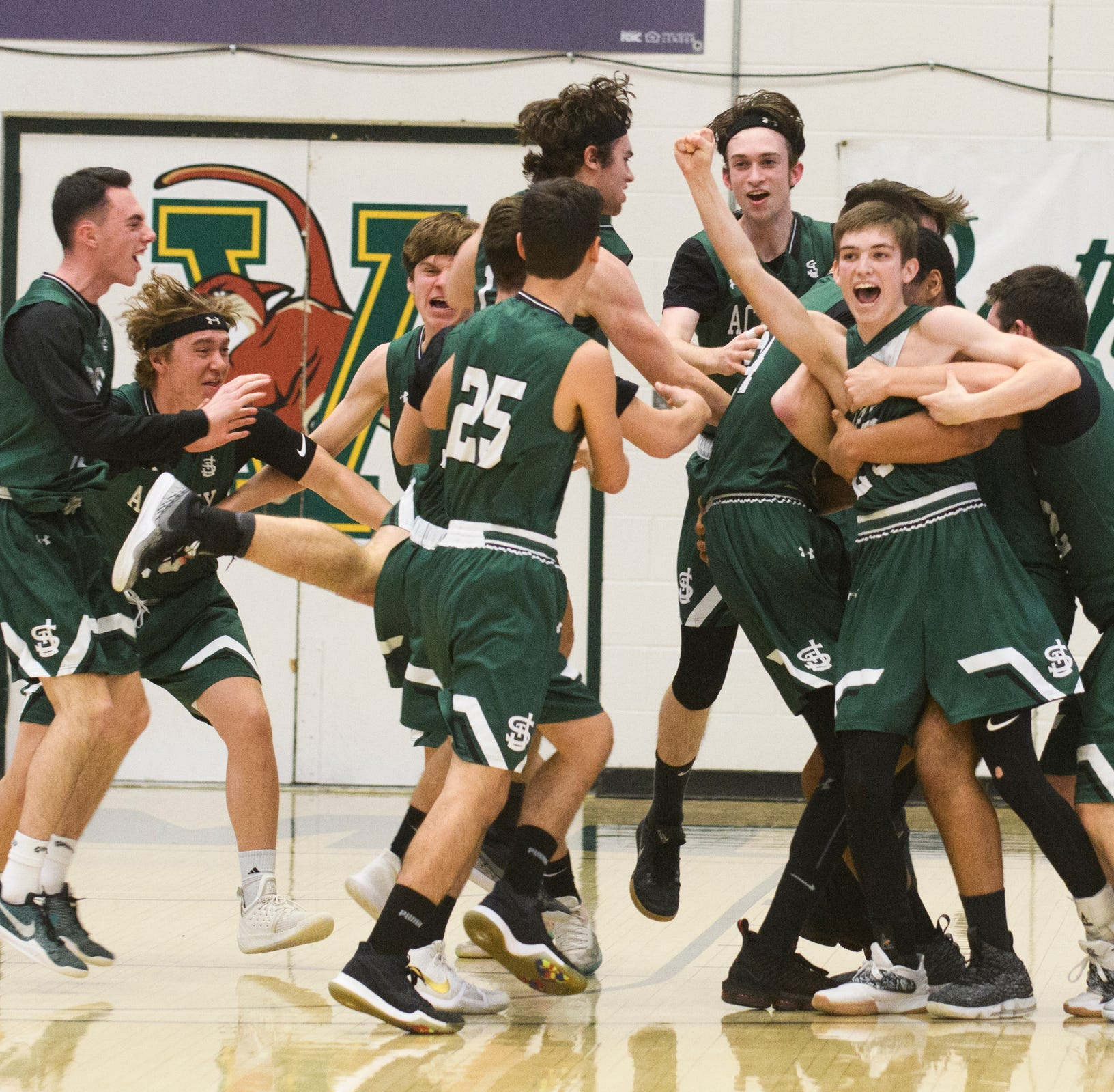 St. Johnsbury stuns Rice in final seconds of D-I boys basketball semifinals