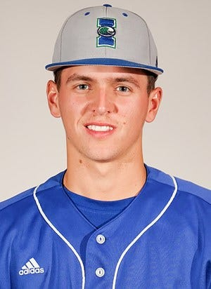 Texas A&M University-Corpus Christi freshman Mason Hopkins picked up the first win of his career, holding Texas State to just one run on as many hits with a single strikeout in the Islanders 12-5 victory.