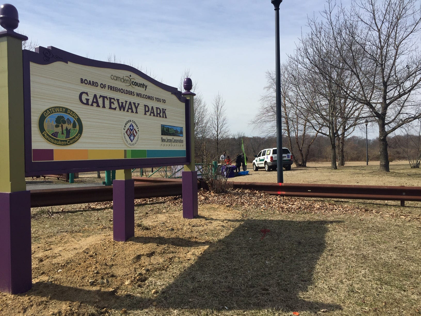 Gateway Park straddling Camden and Pennsauken  opens on March 11, 2019, for walking and biking leisure after a 20-year wait.