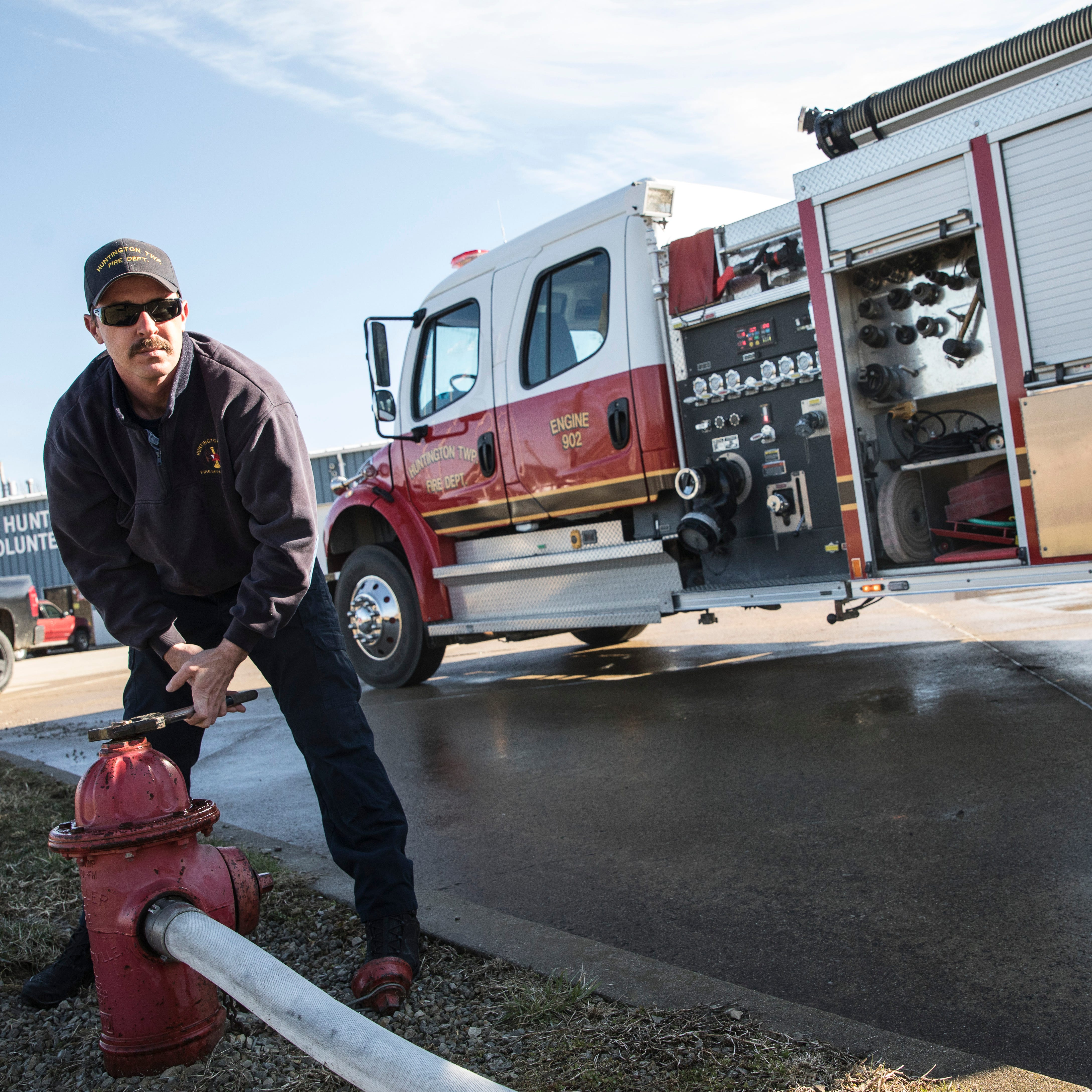 Huntington becomes first township to hire full-time firefighters