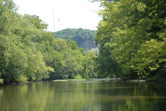 The waters in Paint Creek along the Henson property are exceptional in quality, designated as Outstanding State Waters, the highest classification in Ohio.