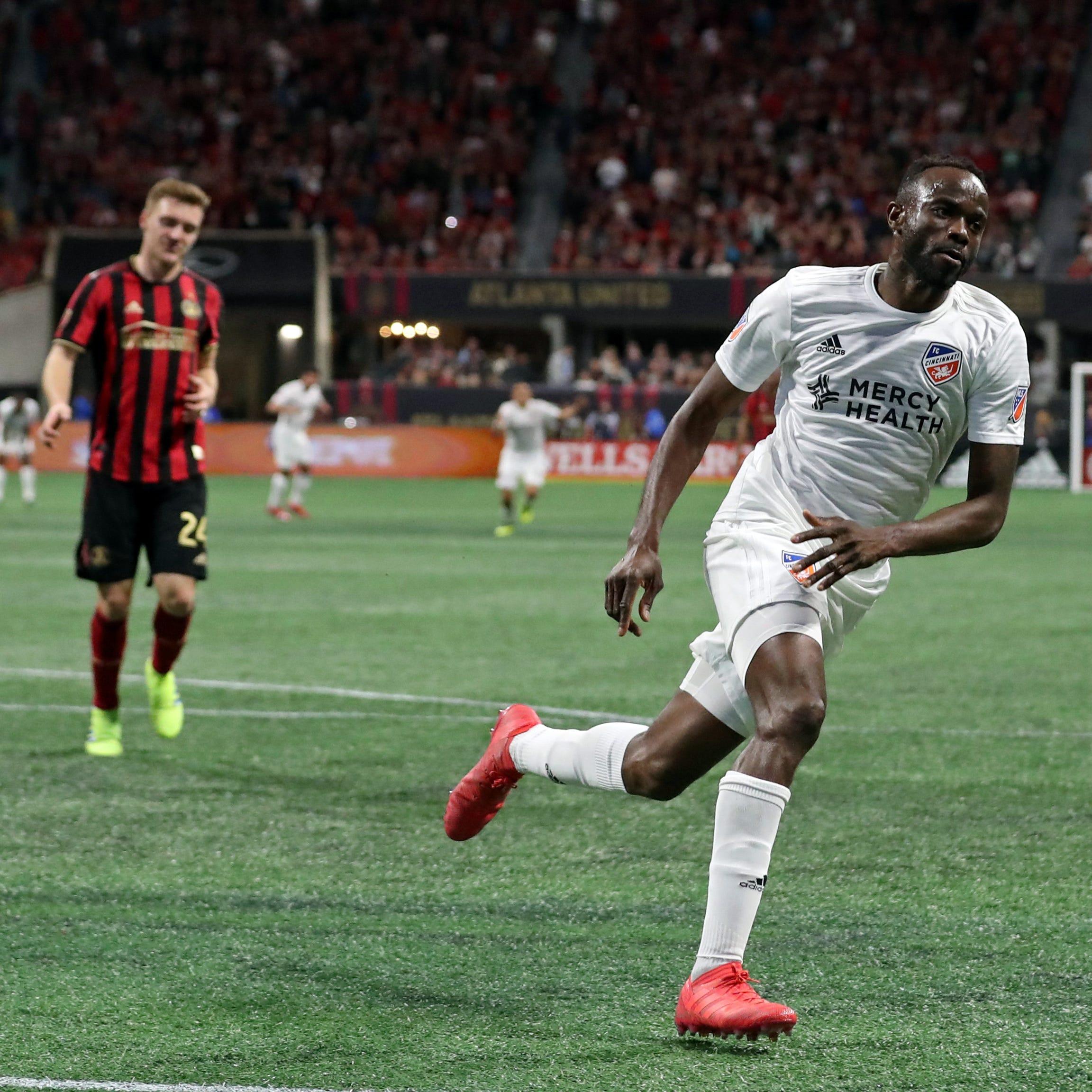 FC Cincinnati bags late goal, draw at Atlanta United for first MLS result