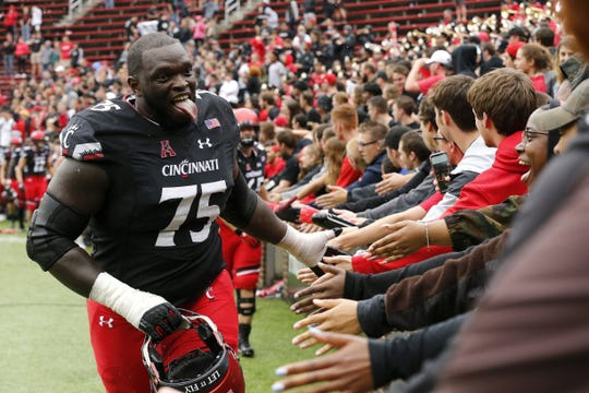 Chris Ferguson has been granted an extra year of eligibility giving UC's offensive line added experience.