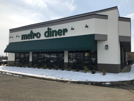 Metro Diner opened in East Brunswick on Tuesday.