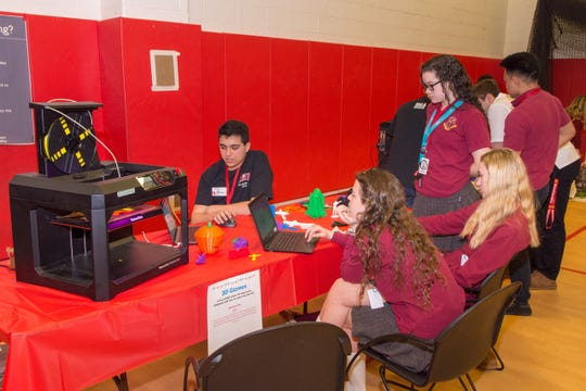 The excitement was palpable in the lower gym of Bishop George Ahr High School in Edison on March 5. But this time, it wasn't a sporting event that captivated people's attention, it was BGA's first-ever School Maker Faire.