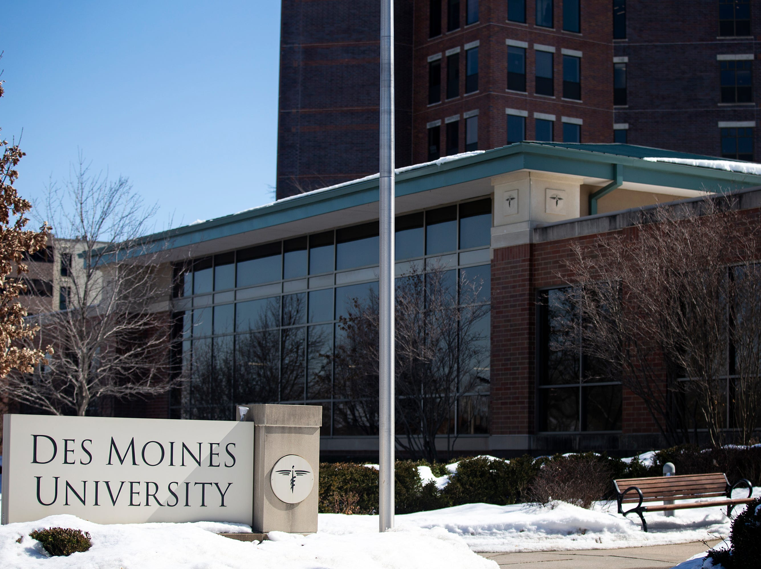 The Des Moines University campus on Monday, March 11, 2019, on the west-side of Des Moines. DMU announced today that the University plans to move the campus to West Des Moines.