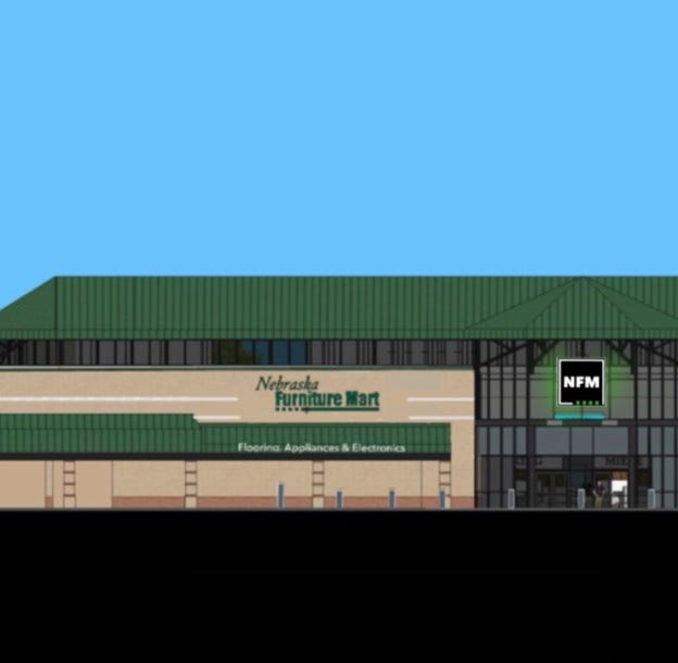 Nebraska Furniture Mart sets grand opening for old Dahl's location off Hickman Road