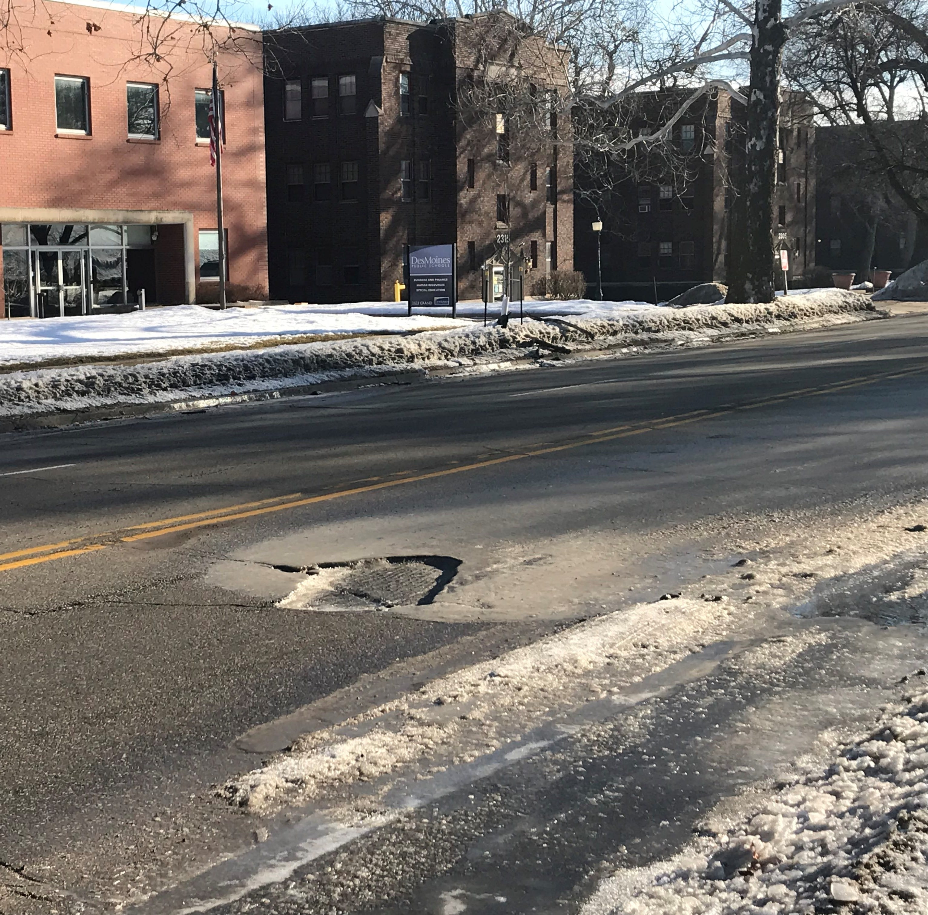 After more than 1,000 complaints, Des Moines to nearly triple efforts to fill potholes