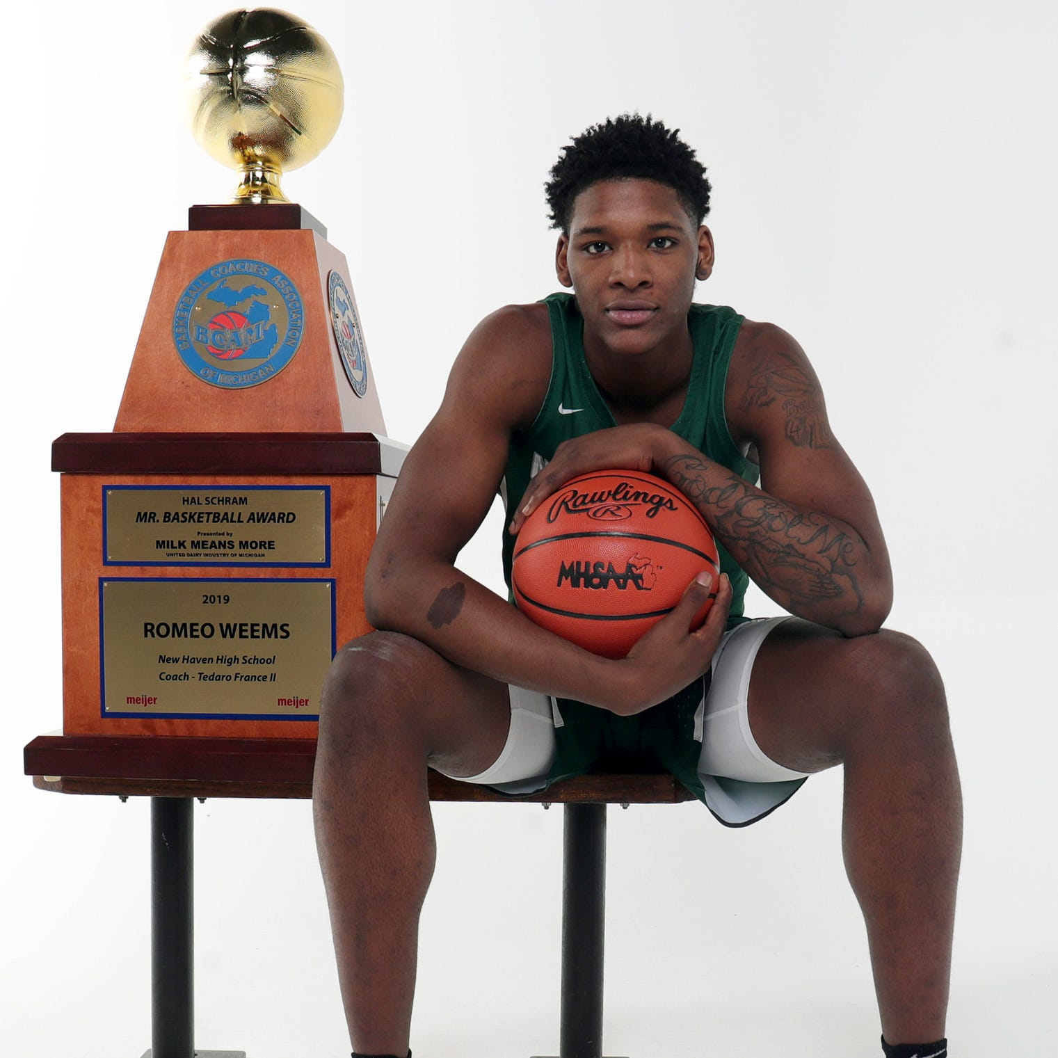 2019 Michigan Mr. Basketball: New Haven's Romeo Weems