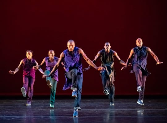 """""""Lazarus,"""" based on the life of choreographer Alvin Ailey, is a hip-hop work commissioned for the Alvin Ailey American Dance Theatre's 60-th-anniversary tour."""