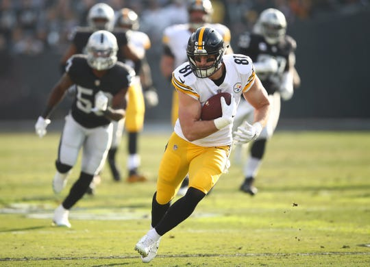 Tight end Jesse James reportedly has reached an agreement with the Lions.