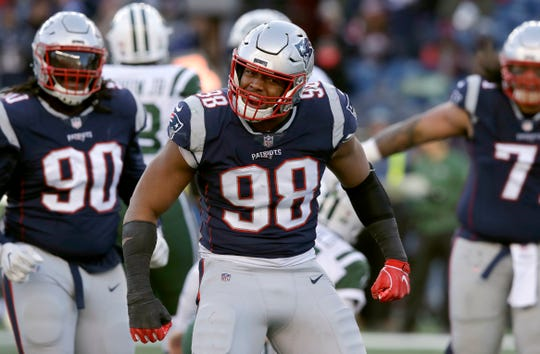 Free-agent defensive end Trey Flowers reportedly will sign with the Lions.