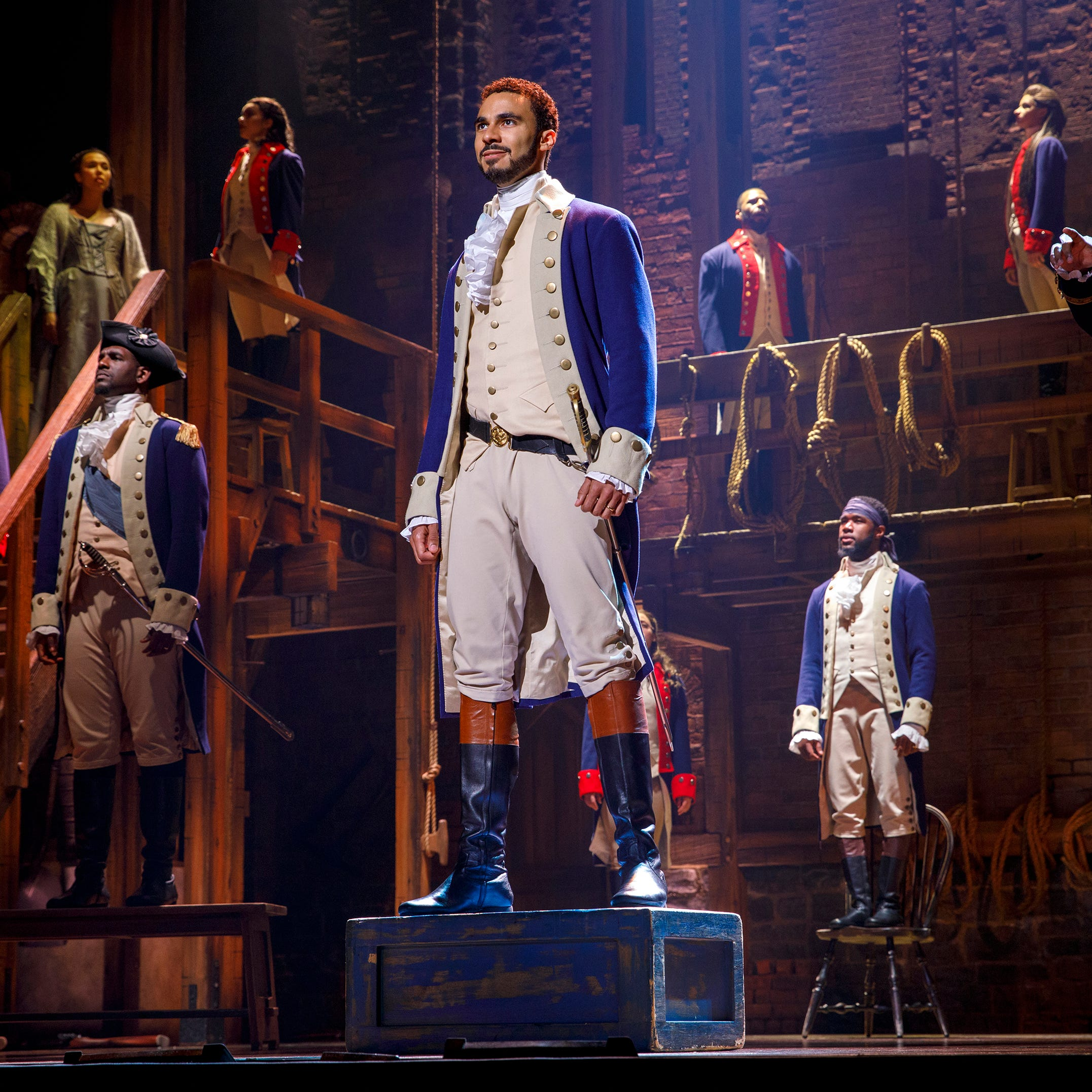 'Hamilton' was mostly a hit with local businesses