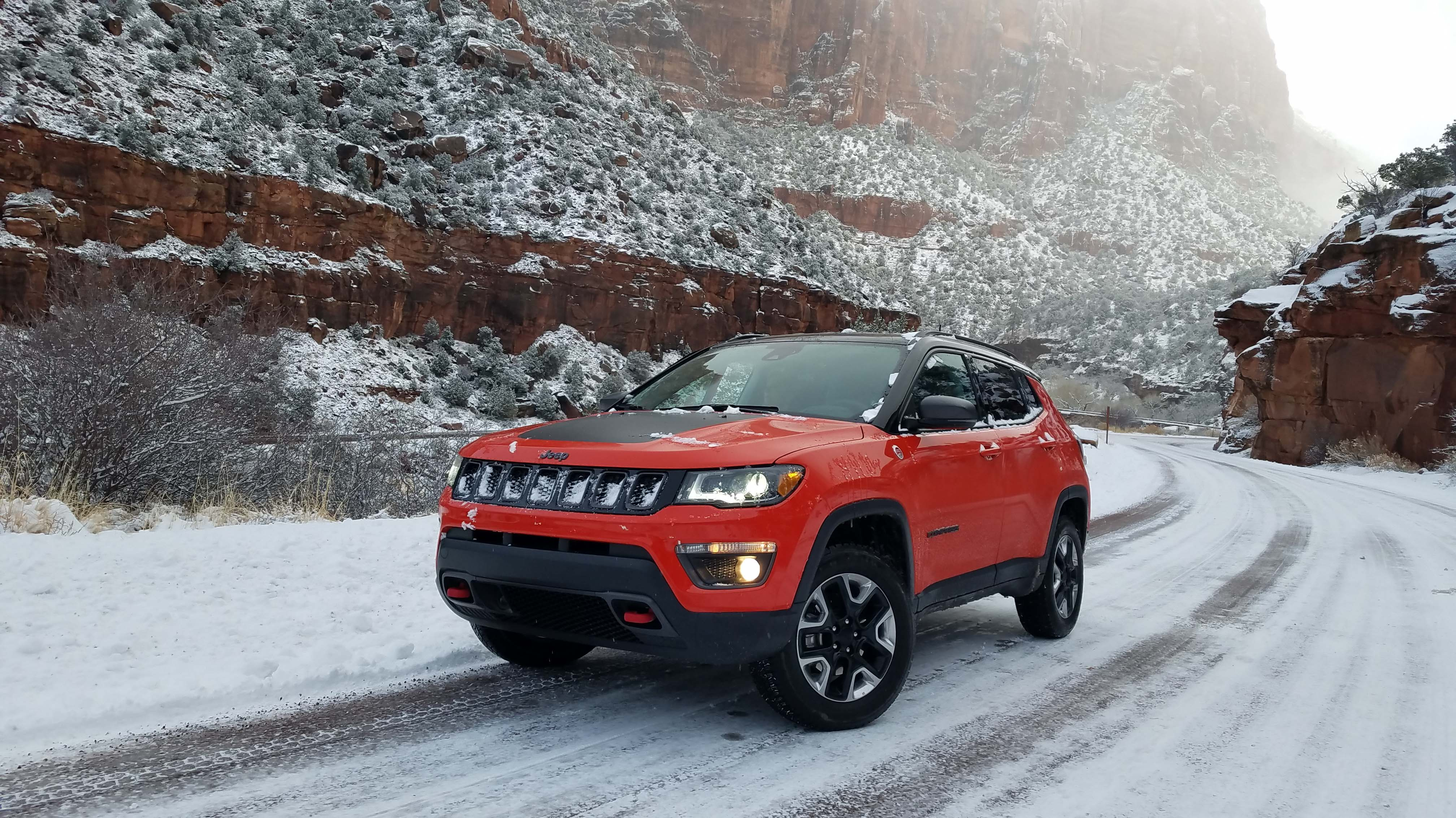 Payne: Jeep Compass earns stripes in icy outback