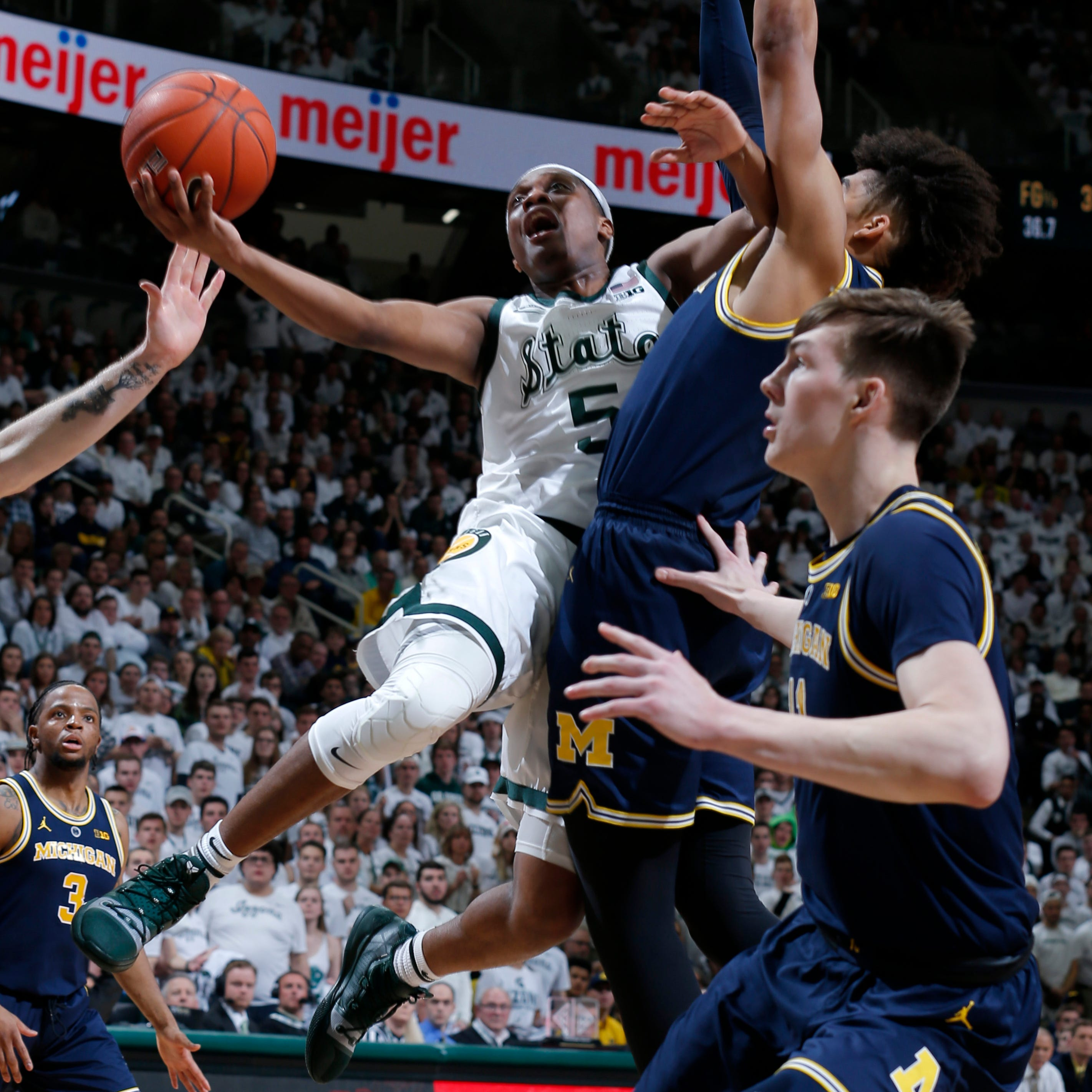 Michigan State's Cassius Winston named Big Ten Player of Year; Tillman top sixth man