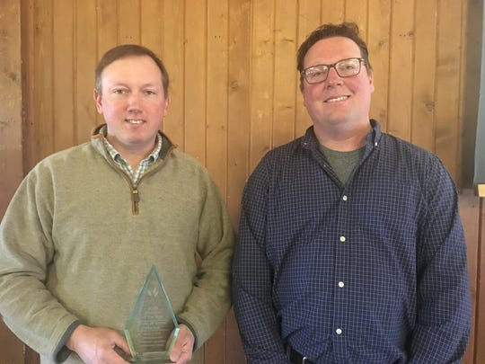 Tony and Steve Polter were honored at the annual Sandusky County Chamber of Commerce Agricultural Awards Breakfast.