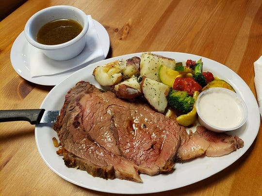 Prime rib is a frequent special at Paradise Deli & Grill in Cape Coral.