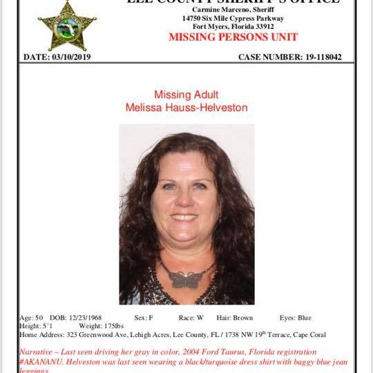 Lee County Sheriff's Office seeking Lehigh Acres woman missing since Wednesday