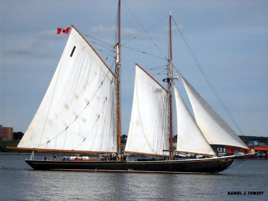 The Bluenose II will be part of the Nicolet Bank Tall Ships festival in Green Bay July 26-28.