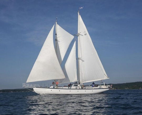 The Utopia will be part of the Nicolet Bank Tall Ships festival in Green Bay July 6-28.