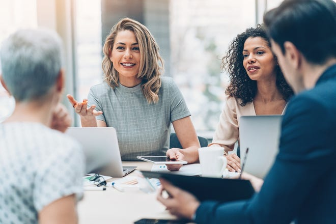 The modern workplace depends on female leadership.