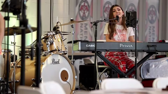 Despite dealing with bullies, Franki Moscato is pursuing her passion for singing.