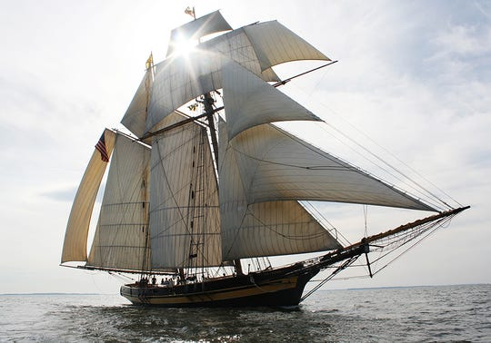 The Pride of Baltimore II will be part of the Nicolet Bank Tall Ships festival in Green Bay July 26-28.