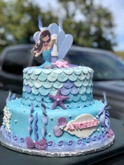 Mermaid-themed decorations are a popular request for the granddaughter-grandmother duo at Laling's Cakes.