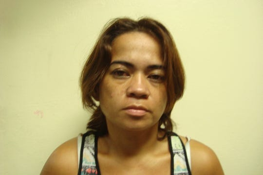Estephany Benavente, 36, is accused of attempting to cash a fake check of $967.64 at the Micronesia Mall Payless, according to court documents.