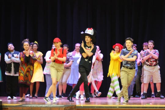 """""""Seussical the Musical"""" will be performed March 22 and 23, and March 29 and 30 at Newfield High School."""