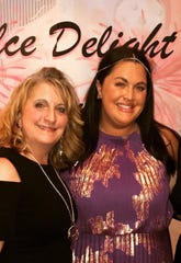Maria Salino, left, and her daughter Christina Dixon, from Dolce Delight.