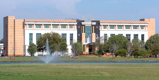 The Sutton Administration building on the campus of Mississippi Valley State University in Itta Bena, Miss.