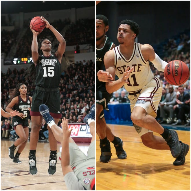 Mississippi State Bulldogs Teaira McCowan and Quinndary Weatherspoon won the 2019 Gillom and Howell Trophies, respectively, as the best college basketball players in Mississippi.