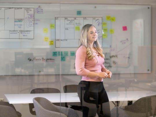Erica Grant, CEO of Quantum Lock on Monday, March 11, 2019.