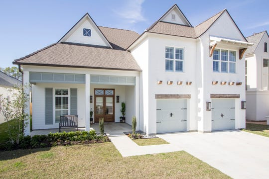 This 4 bedroom, 3 1/2 bath home is located at 400 Amber Pond Lane in Lafayette. It is listed at $735,000.