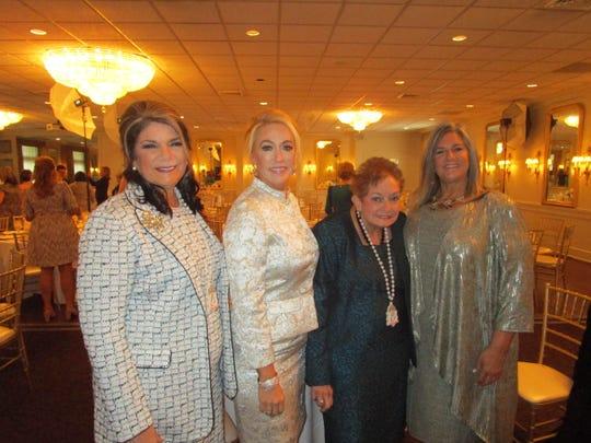 Monique Gideon, Reneé Busch, Jaculyn Bourgeois and Denise Leger