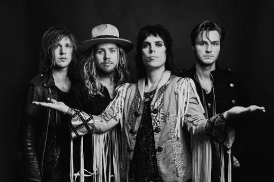 The Struts at Waterfront Jam, Thursday, May 2, 2019 at 9 p.m.  Part of Kentucky Derby Festival's 2019  Kroger's Fest-a-Ville