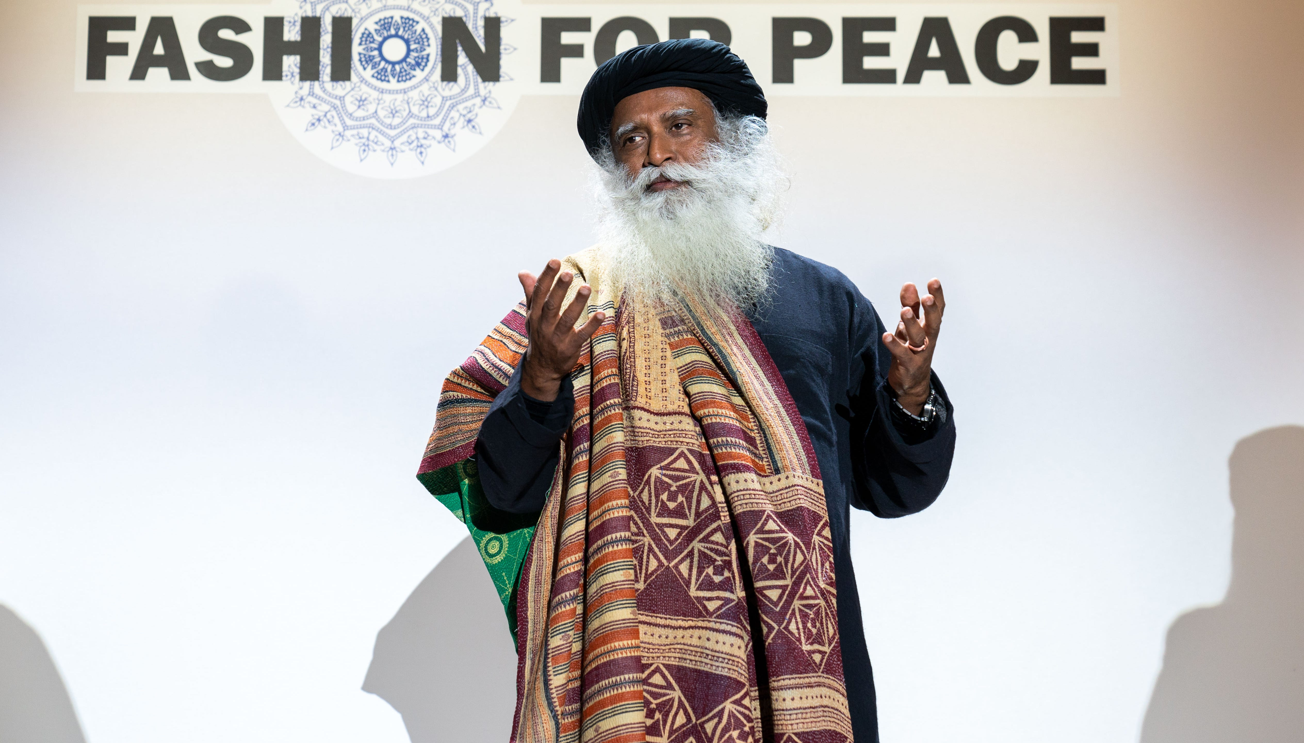 Sadhguru has concerns about the negative impacts of fast fashion on the environment.
